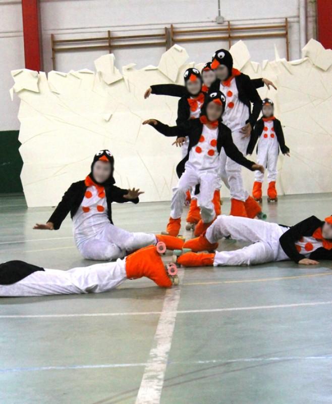 Grupo de patinaje Calatorao.