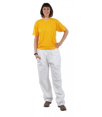 Pantalon blanco.