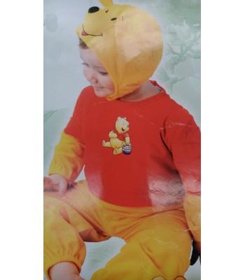 Disfraz de oso,wunide pooh.