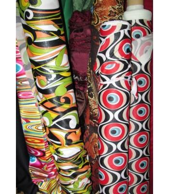 Tela para confecionar trajes hippies