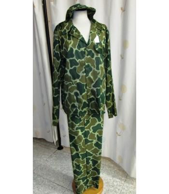 Disfraz militar.