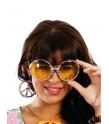 Gafas hippie con pendientes