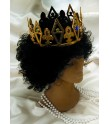 Corona rey mago,medieval o similar.